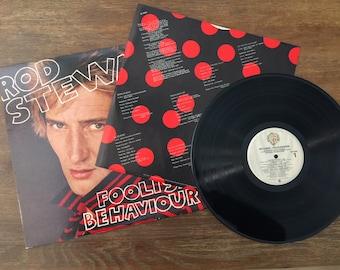 Rod Stewart Foolish Behavior Vinyl LP