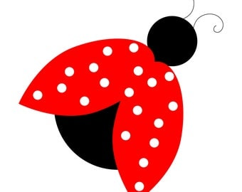 Lady Bug Embroidery Files