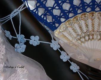 Something Blue Beach Barefoot Wedding Sandal~Bridesmaid Gift~Boho Wedding