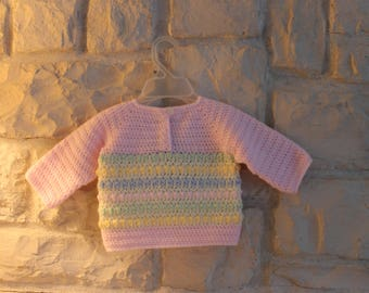 Baby girl pullover sweater