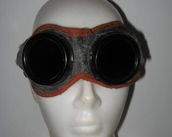 Vintage Soviet Protective Goggles. Not used.