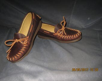 Hand-laced Moccasin