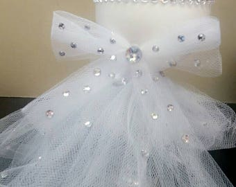 Brides wine glass