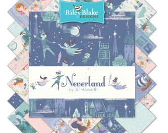 "10"" Stacker Bundle Neverland by JIll Howarth for Riley Blake Designs- 42 Fabrics"