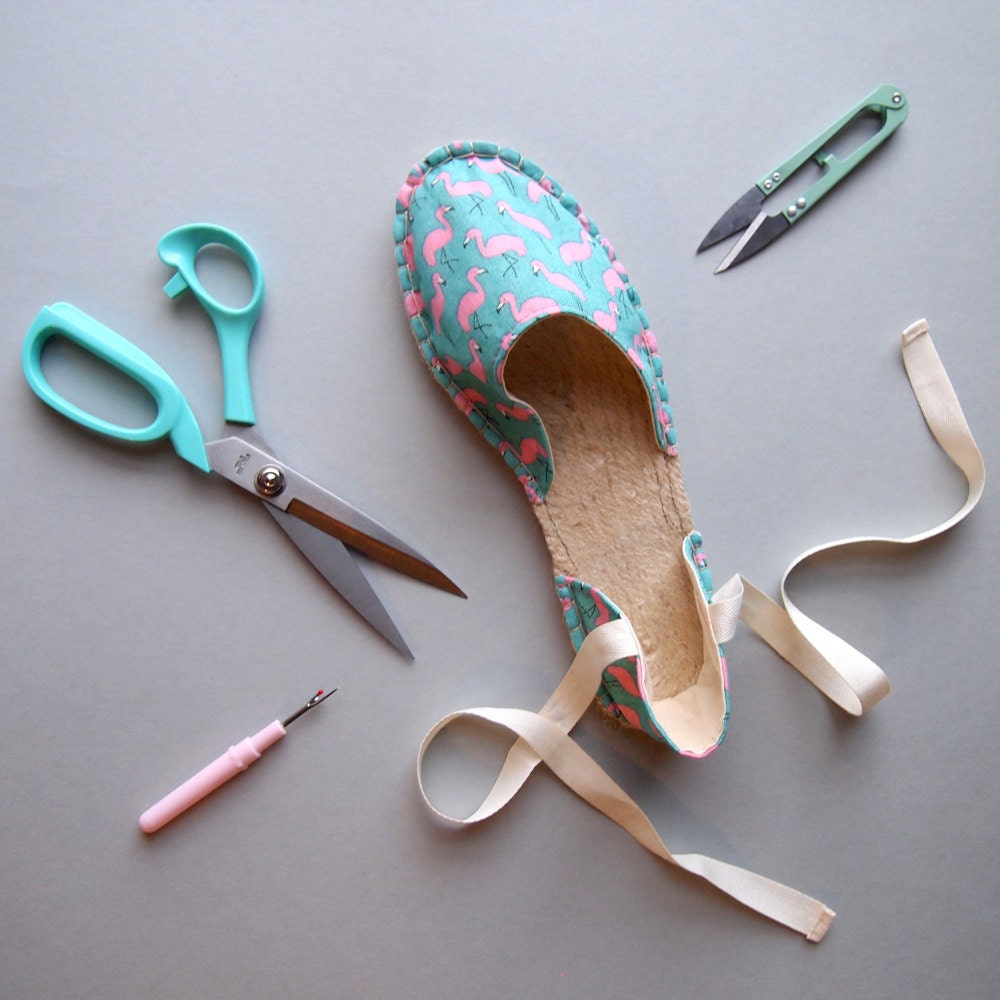Make Your Own Espadrilles with Suzie at The Village Haberdashery, London