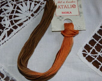 Embroidery FLOSS stranded Mocha colour ATALIE