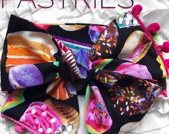 Pastries Headwrap