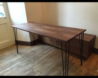 Special offer. Amercan black walnut Dining table made to order