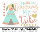 Love my tribe svg | teepee svg | wigwam svg | love my tribe iron on | love my tribe dxf | teepee clip art |teacher svg | teaching tribe svg