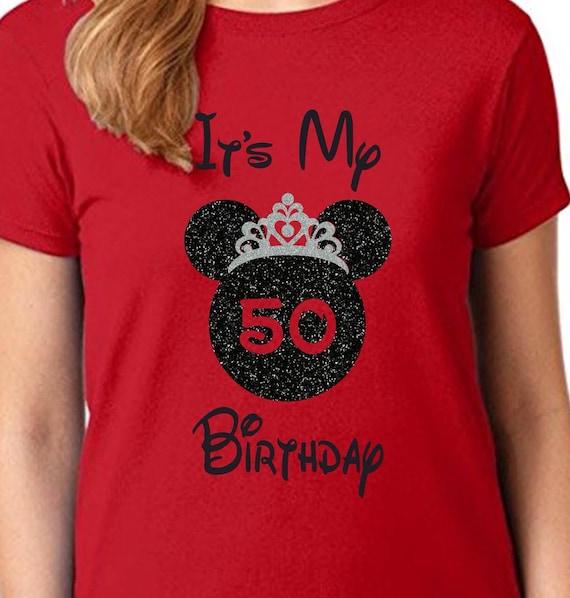 Disney Birthday Girl Shirt Its My Birthday Disney Birthday