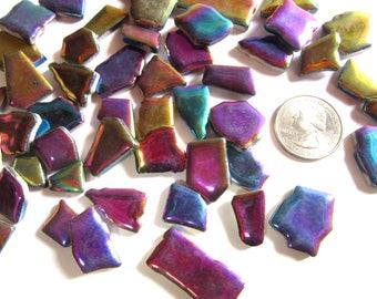 glnzenden mosaik fliesen irisierenden fliesen puzzle keramik metallic fliesen - Fantastisch Mosaik Flie