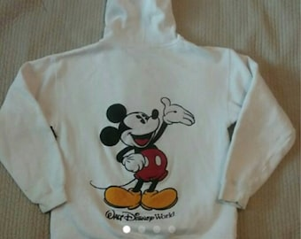 Vintage Mickey Hooded Jacket