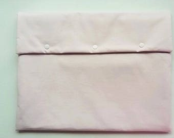 Pink laptop pouch