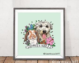 Pet Portrait Custom Commissions