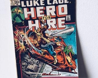 1970's Luke Cage Comic Book #3