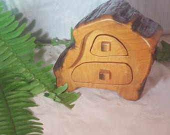 Dora.... a 2 drawer Cypress wood trinket box