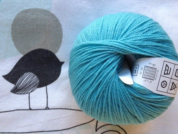 BB Turquoise MERINO - Fonty made in hollow