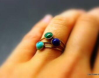 3 mini rings size 53, rings