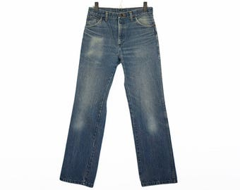 Size 31 Wrangler Jeans, Vintage Wranglers, Wranglers Size 31, Worn in Vintage Jeans Size 31, Vintage Jeans, Vintage Wrangler Jeans