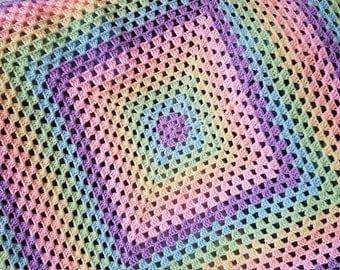 Crochet Granny Blanket - various sizes