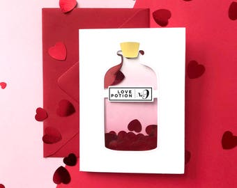 Love Potion Number 9, Love Card, Anniversary Card