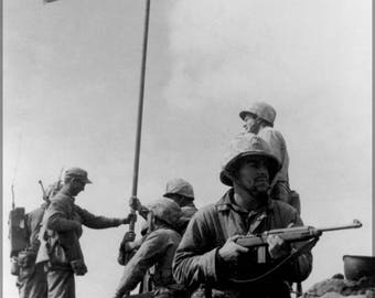 Poster, Many Sizes Available; Battle Of Iwo Jima