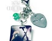 X-Files Charm / Planner Charm, Purse Charm, Zipper Pull