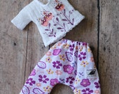 Middie Blythe Doll Outfit / Top Pants In Set / OOAK Doll Clothes