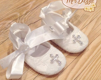 baby christening shoes, baby baptism shoes,baby cross shoes,baby lace shoes,white baby shoes, newborn shoes, Infant shoes, baby dress shoes