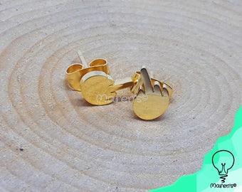 1 Pair earrings - Middle finger