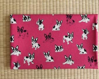 french bulldog fabric 1/2 yard