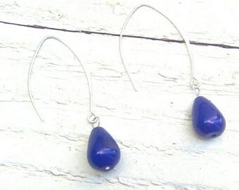 semi precious stones earrings