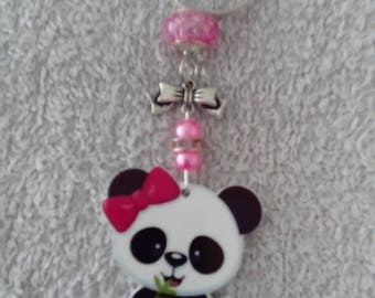 Keychain or bag-Panda jewelry