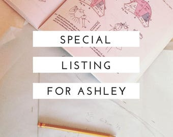 Special Listing for Ashley