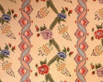 BRUNSCHWIG & FILS BANYAN Cotton Printed Fabric 10 Yards Multi