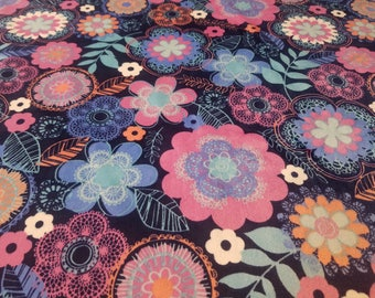 Minky weighted blanket - therapy blanket - minky flowers - gravity - adults - kids - sleep aid - insomnia - PTSD - anxiety blanket - ADHD