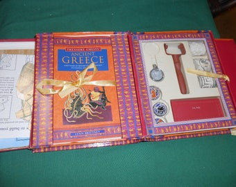 Treasure Chests ANCIENT GREECE Game-Book
