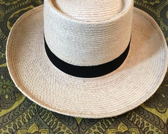 VINTAGE 90s / Panama Hat