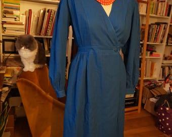 Lanvin wrap dress in wool- Robe Lanvin portefeuille en laine