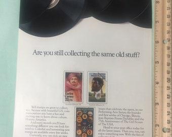 1987 US Postal Service and Lennox Magazine Ad