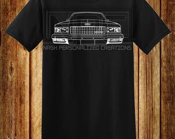 87-90 Chevy Caprice T-Shirt
