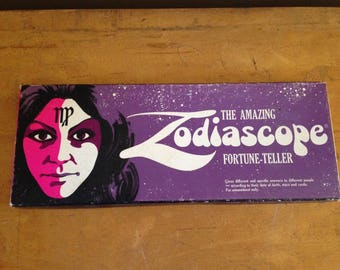 Vintage Zodiascope Fortune Teller Game Astrology