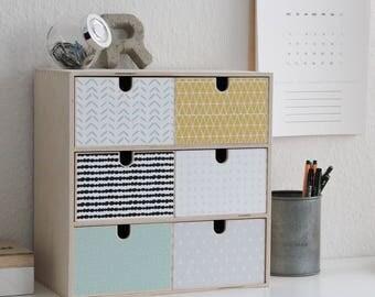 wolken sticker f r ikea ribba mosslanda regale m bel nicht. Black Bedroom Furniture Sets. Home Design Ideas