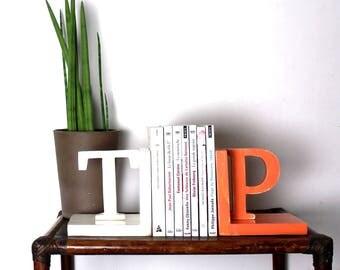 Serre-livres en bois personnalisés _ serre-livres _ cadeau mariage _ mylittledecor