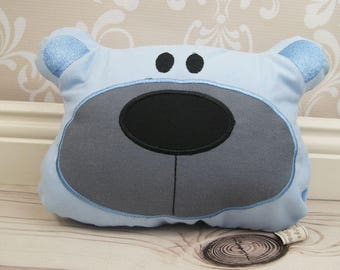 Baby pillow, bear cushion, cushion for baby bed