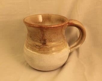 Vintage Handmade Ceramic Stoneware Mug Rustic Primitive Shabby Sheek