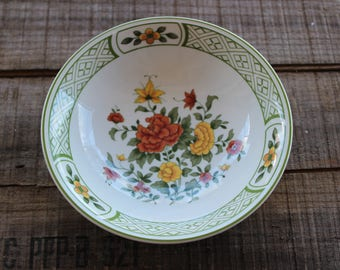 Vintage Set of 14 - VILLEROY & BOCH - Summerday - Cereal Bowls - 5 3/4 Inches