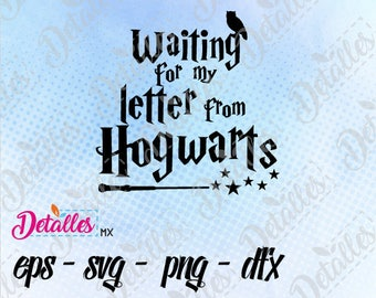 Harry potter letter from Hogwarts SVG, Cut File, Vector SVG Eps High Quality design files ai eps for Cricut and Silhouette Cameo