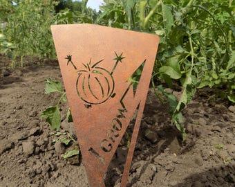 Garden Stake / Garden Sign / Garden Marker / Garden Label / Vegetable Marker/ Herb marker / plant marker / garden / plant stake /garden art