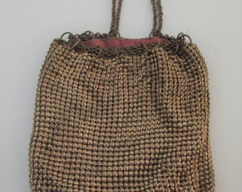 Vintage Whiting and Davis Co. Mesh Bag
